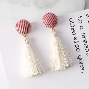 NWT Tassel Earrings